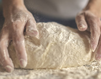 this photo illustrates the role of yeast in pizza dough
