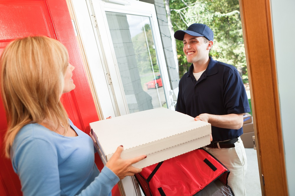 online pizza delivery
