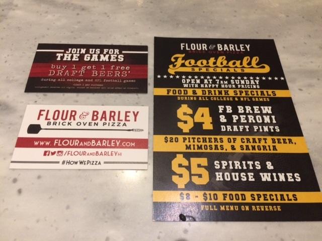 Flour and Barley Honolulu