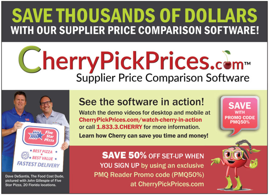 Idea Zone: How to Save Money with Cherry Pick Prices - PMQ Pizza
