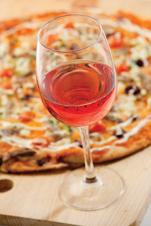 pizza paring, pizza & wine, pizza and wine