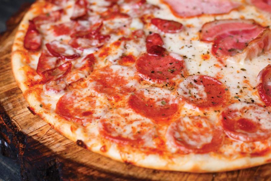 what is par baked pizza crust