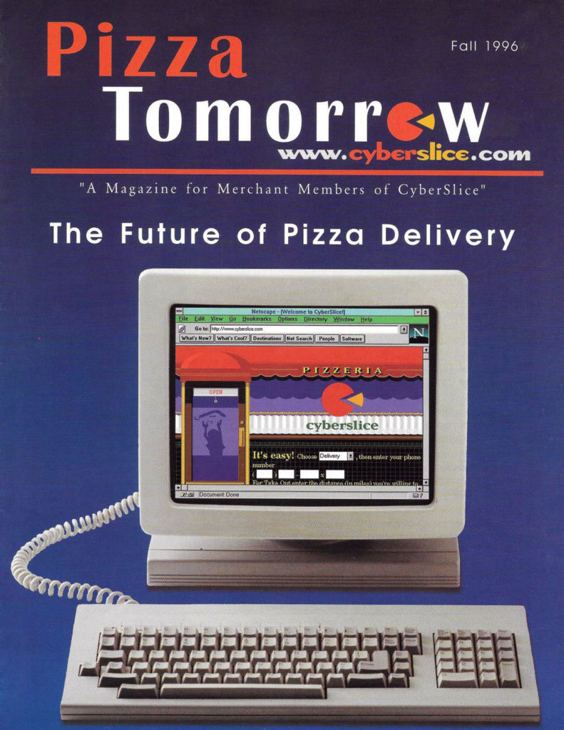Pizza Tomorrow 1996 cover