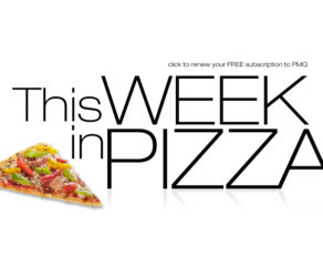 this week in pizza