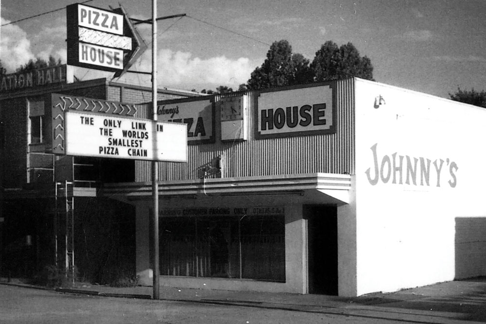 The first Johnny's Pizza House was opened in 1967.