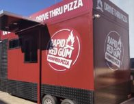 rapid red gum drive thru pizza