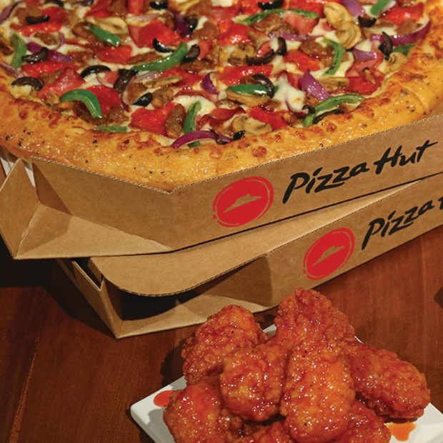 this photo shows the types of products that impact Pizza Hut sales