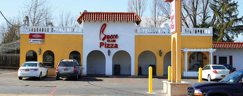 Carbone's and Bocce Club Pizza are two well-known purveyors of Buffalo-style pizza in the Nickel City.