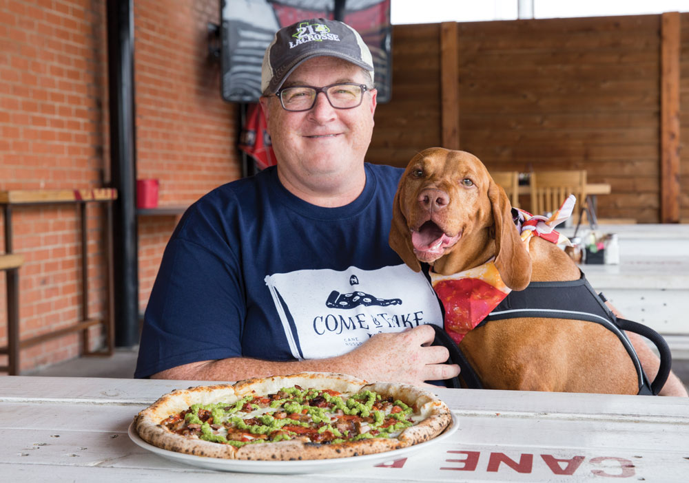 When Jay Jerrier isn't opening new Cane Rosso pizza concepts, he's lending the company's name to a center that has rescued more than 500 abandoned or neglected dogs.