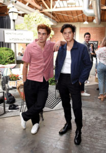 K.J. Apa and Cole Sprouse of Riverdale