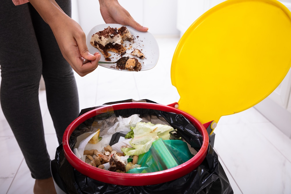 This photo illustrates food waste at its worst