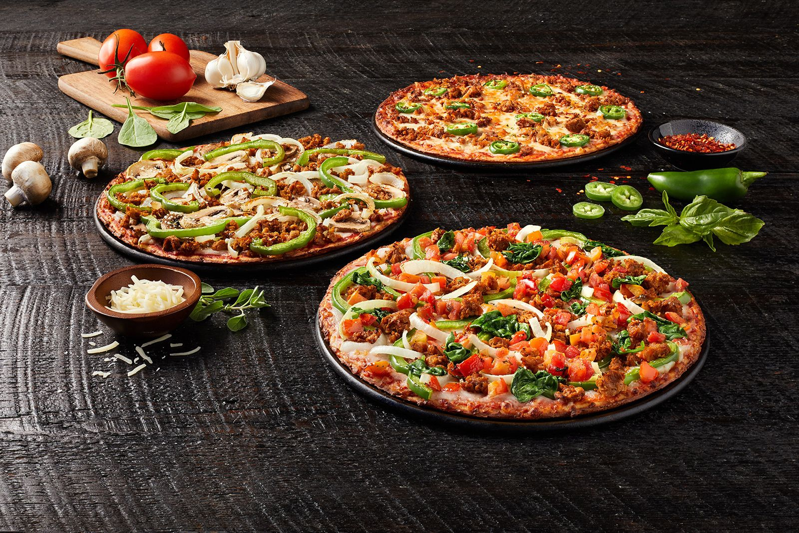 Donatos Introduces Three Cauliflower Crust Pizzas Pmq Pizza Magazine