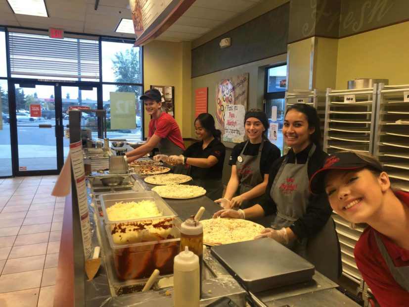 Papa Murphy's in Anchorage offers bush delivery of pizza across Alaska.