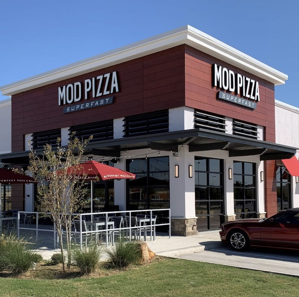 photo of a new MOD Pizza store in Wylie, Texas