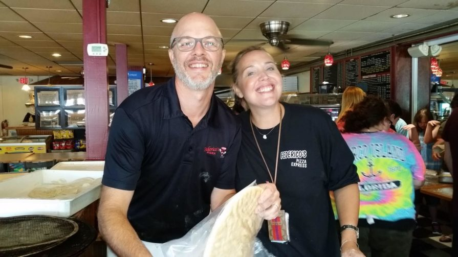 photo of Bryan Morin of Federico's Pizza and Restaurant, who took out a line of credit to help his employees during the coronavirus