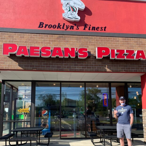 this photo shows one of the pizzerias affected by the pepperoni shortage