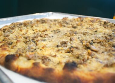 this photo shows the best pizza in the U.S. according to website The Daily Meal